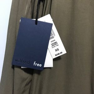 Wilfred Jackets & Coats - Aritzia Wilfred free herms jacket